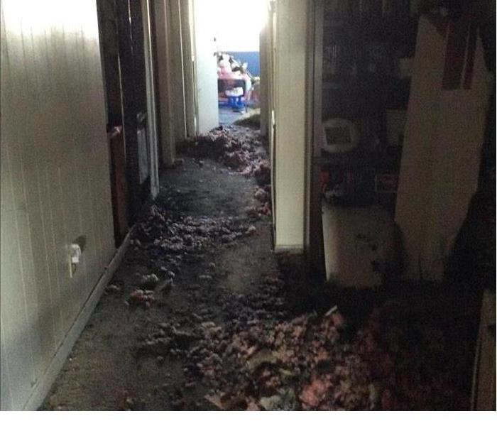 House Fire Caused By Wall Heater